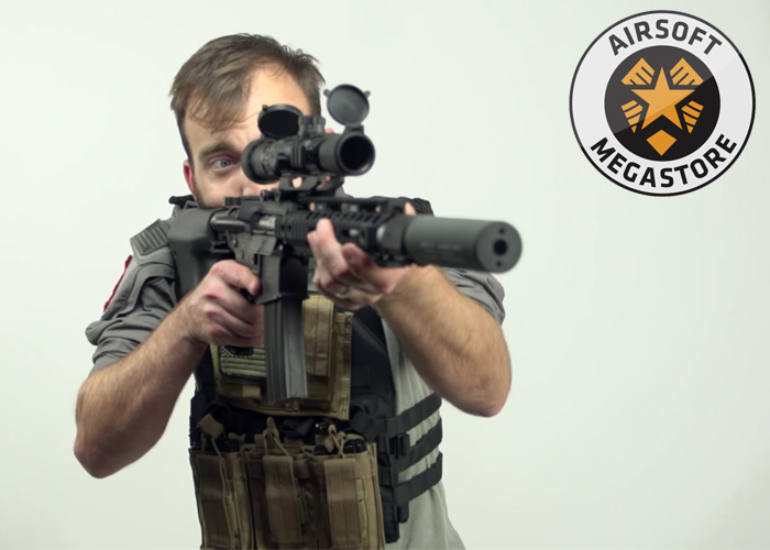 AMS: 5 Easy Airsoft M4 Upgrades