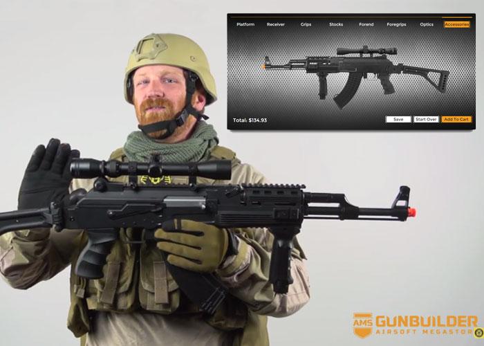 AMS AK Gun Builder Feature