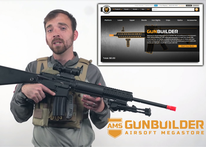 AMS Custom Airsoft Gun Builder