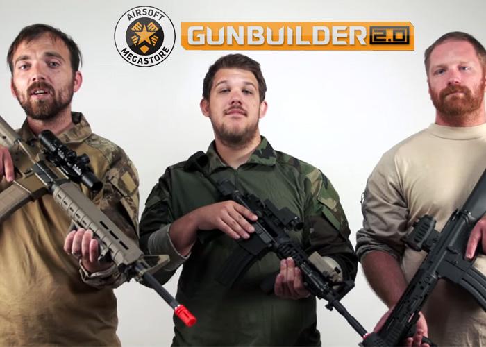 ams custom gun builder m4 gbb build off popular airsoft