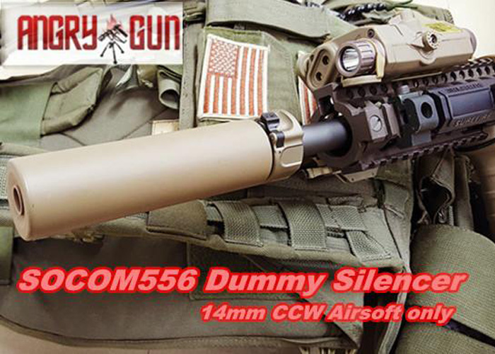 Angry Gun SOCOM Dummy Silencer Series | Popular Airsoft