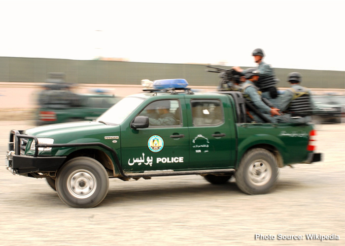 Afghan National Police (ANP) Ford Ranger (Wikipedia)