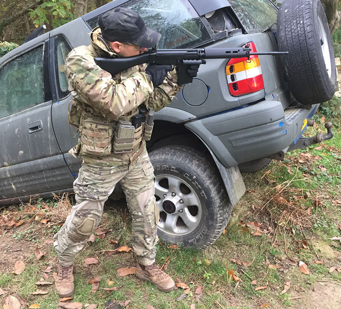 ARES Airsoft L1A1 Self Loading Rifle AEG |
