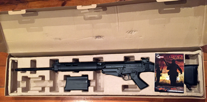 ARES Airsoft L1A1 Self Loading Rifle AEG | Popular Airsoft