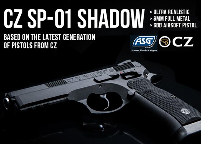 ASG CZ SP-01 Shadow Release soon !  