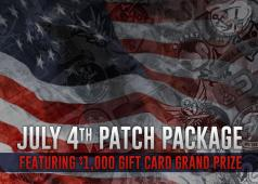 ASGI 4th of July Freedom Patch Package