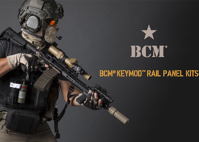 BCM­ KeyMod Rail Panel Kit