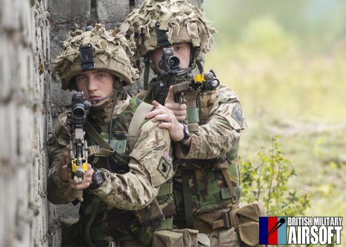 British Military Airsoft: Cover & Move Tutorial