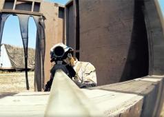 Brian Exploder Airsoft Sniper Shoots Out A Camera