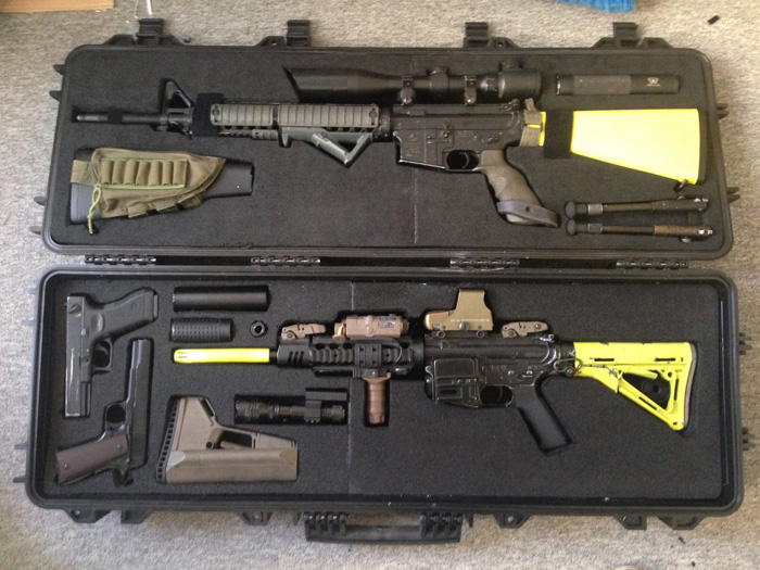 Bruno Silva S Custom Airsoft Gun Case Popular Airsoft