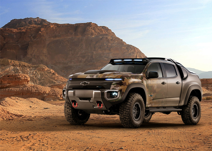 Chevy Colorado ZH2 Fuel Cell Truck