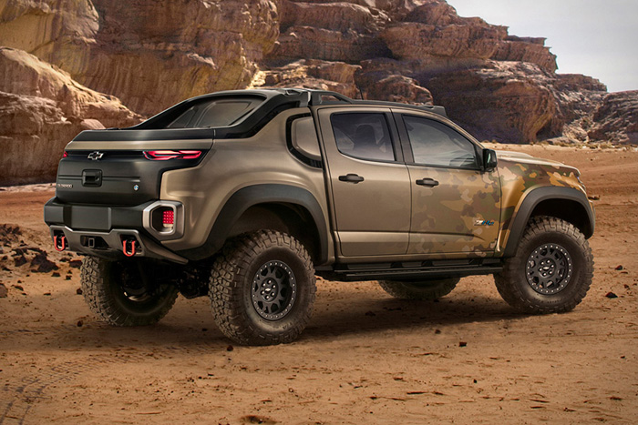 Chevy Colorado Zh2 >> Want: The U.S. Army's Chevy Colorado ZH2 Fuel Cell Truck