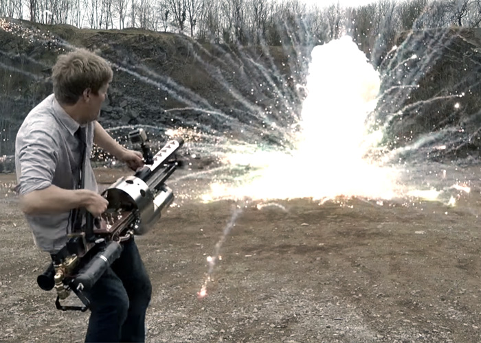 Colin Furze The Thermite Launcher