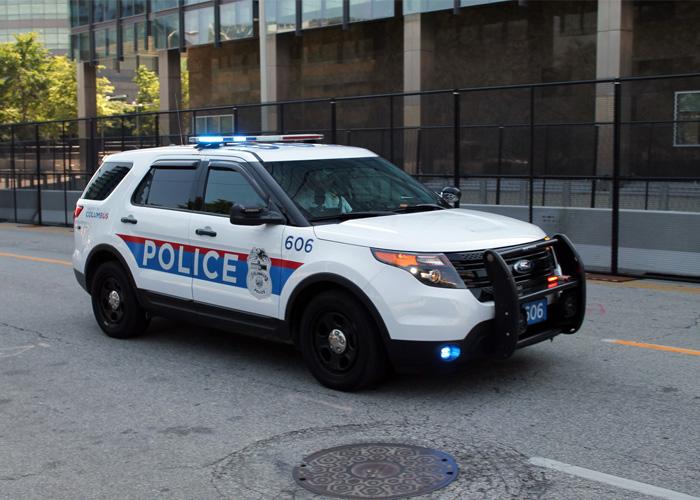 Columbus Ohio Police Ford Interceptor Utility (Photo By Raymond Wambsgans)