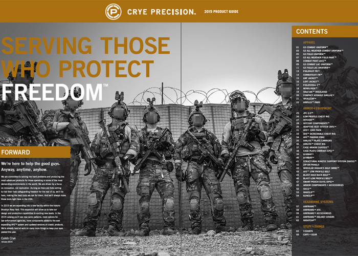 Crye Precision 2015 Product Guide