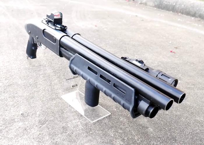 Populaire Double Barrel Tokyo Marui M870 Shotgun | Popular Airsoft VO69