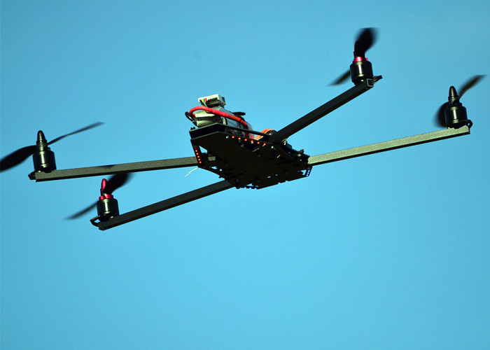 Drone In Flight