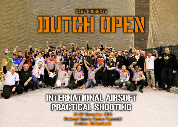 Dutch Open 2015 ROs and Shooters