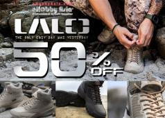 eHobby Asia: 50% Off Lalo Boots