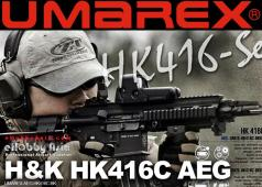 eHobby Asia Umarex (VFC) H&K HK416C AEG Airsoft Rifle