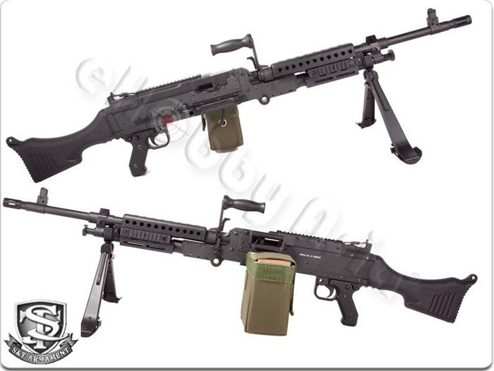 M240b Airsoft S&T M240 AEG In St...