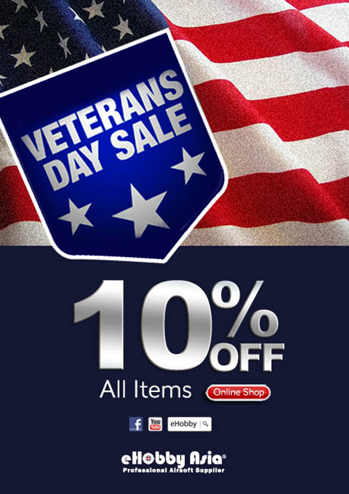 eHobby Asia Veterans Day Sale 2015 | Popular Airsoft ...