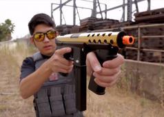 Evike [The Gun Corner] Echo1 Golden GAT