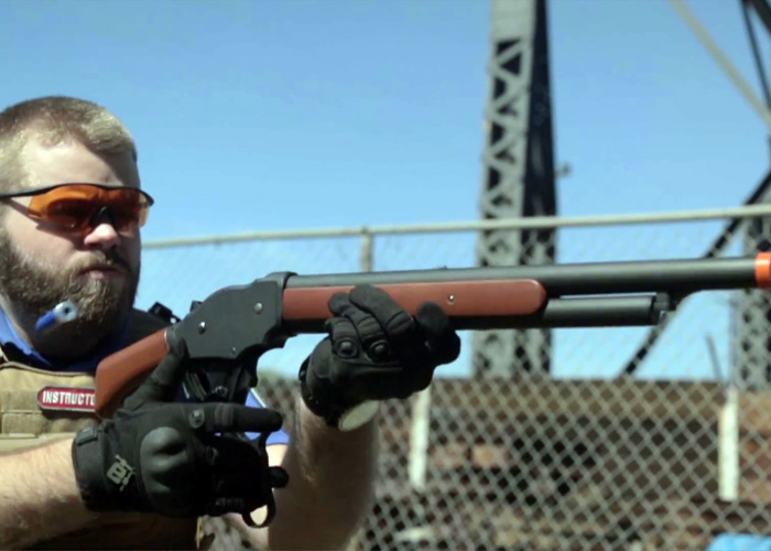 evikecom m1887 lever action shotgun popular airsoft