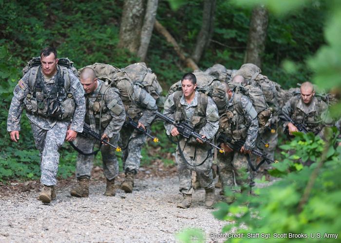 Females in U.S. Army Ranger School