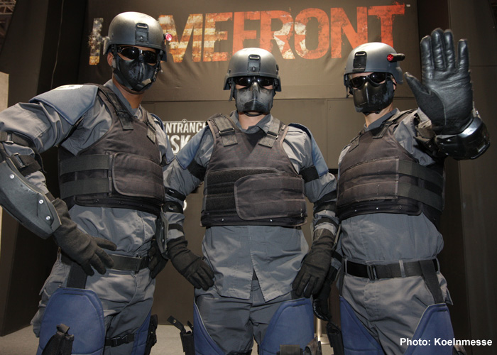 Gamescon 2015 Homefront FPS Booth