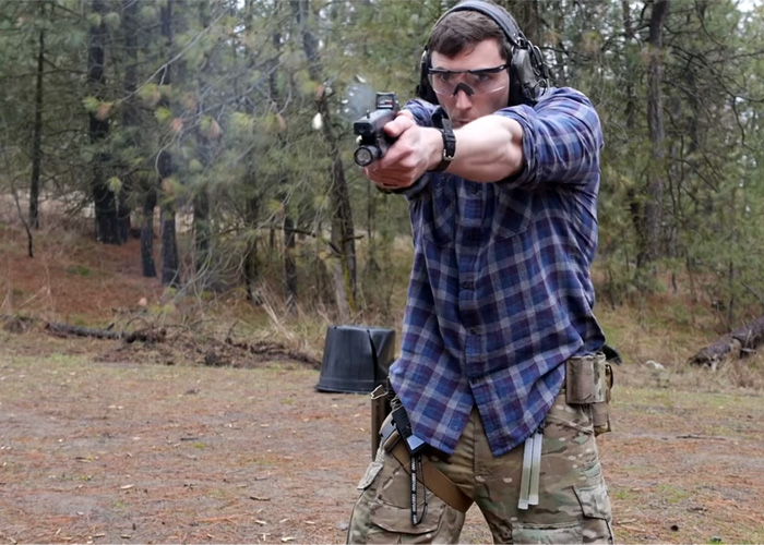 Garand Thumb Pros & Cons On Red Dots On Pistols