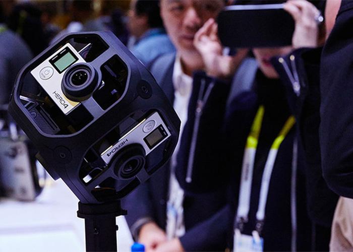 GoPro Omni VR Rig