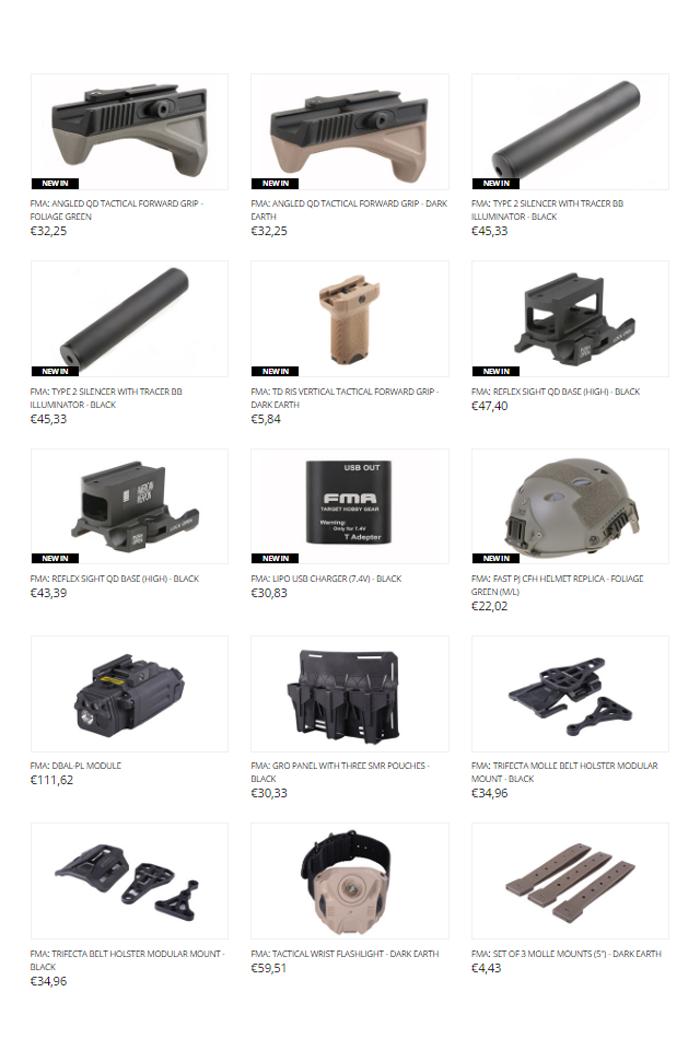 gunfire  asg bren 805  u0026 more products