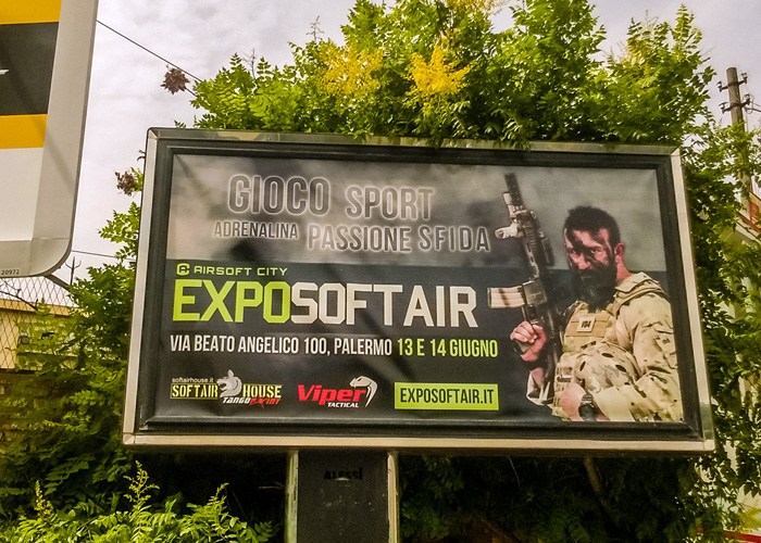 Gunfire Report Expo Softair 2015