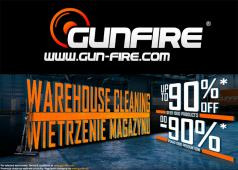 Gunfire Warehouse Cleaning Sale