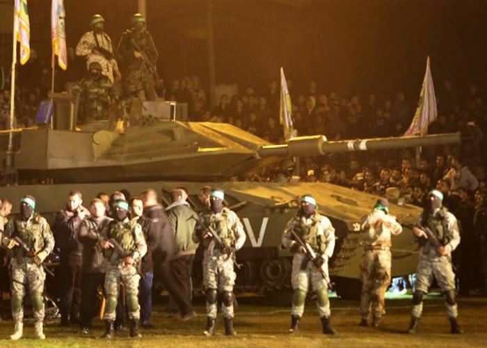 Hamas DIY Tank