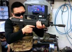 Hephaestus Custom Type 97 GBB Rifle