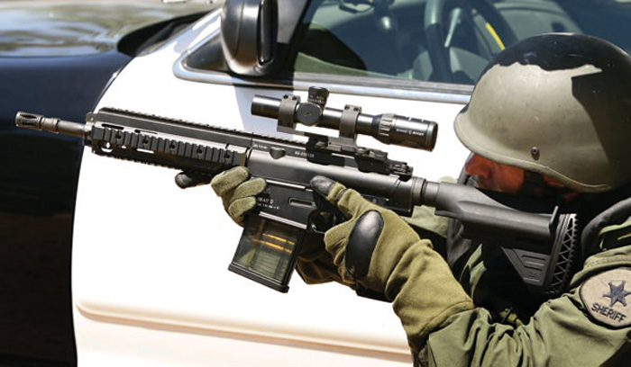 The German Army To Use The HK417 As Temporary G36 Replacement  