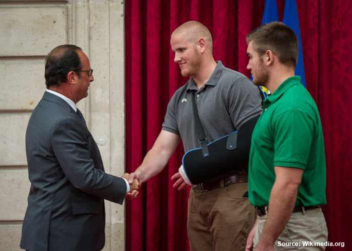 Thumpy: American Heroes In French Train  Hollande_spencer_stone_alek_skarlatos