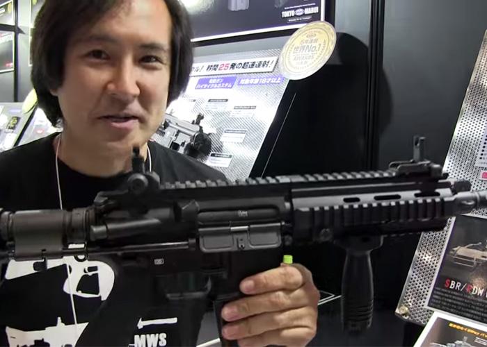 Hyperdouraku Tokyo Marui HK416C NEG
