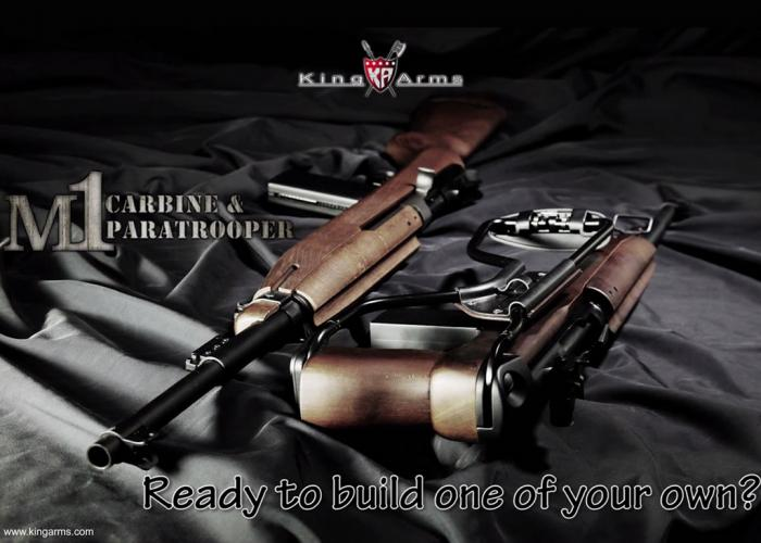 King Arms Build Your Own King Arms M1 Carbine