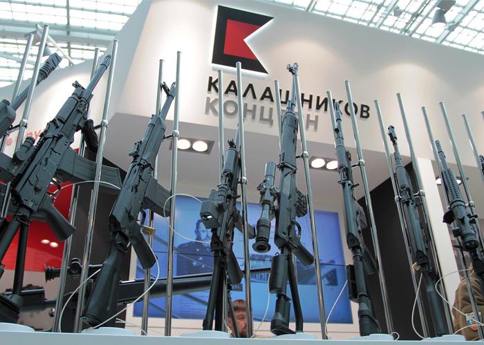 Kalashnikov Concern at Arms & Hunting - 2015