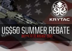 Krytac Summer Rebate 2015