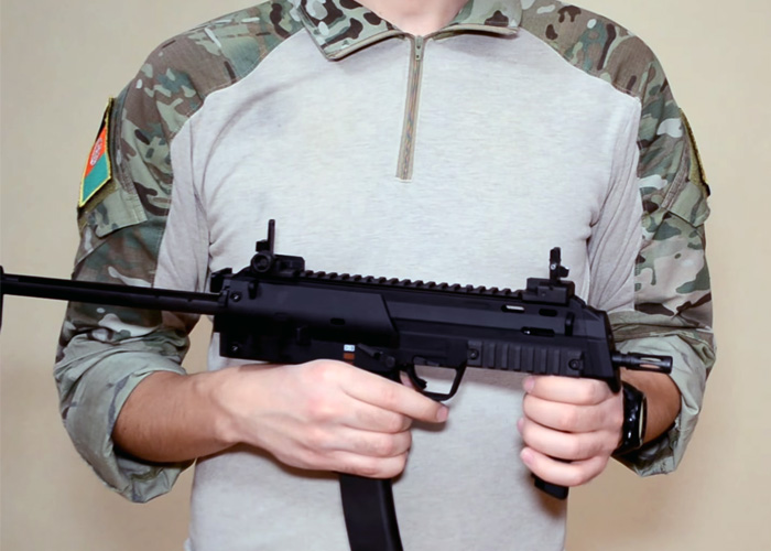 Lancaster Airsoft Russia Tokyo Marui MP7A1 GBB SMG Review
