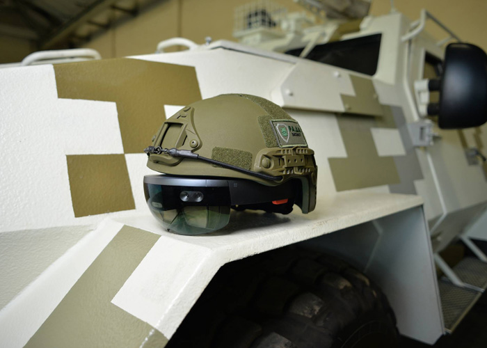 Limpid Armor MS HoloLens