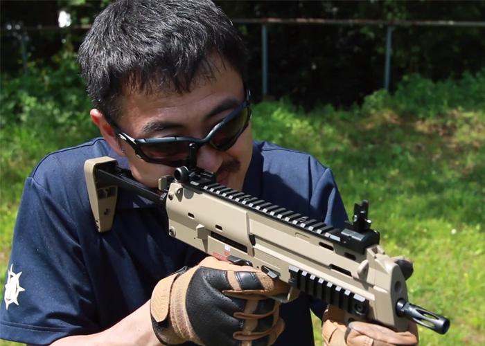 Mach Sakai: TM MP7A1 GBB Tan
