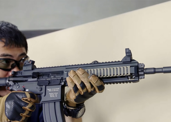 VFC HK416D GBB Review By Mach Sakai |