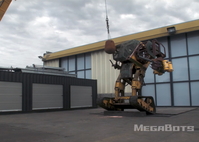 "Megabots ""How to Destroy a Giant Robot"""