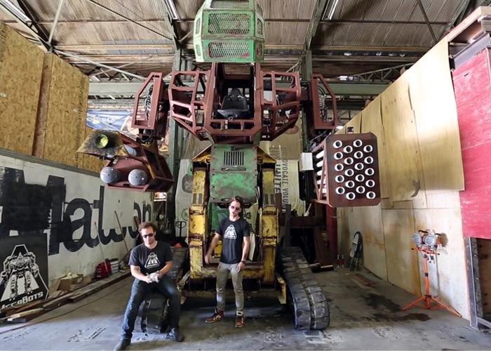 Team Megabots USA Kickstarer Project