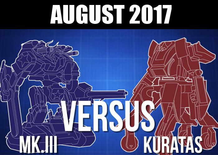 Megabots vs Kuratas August 2017